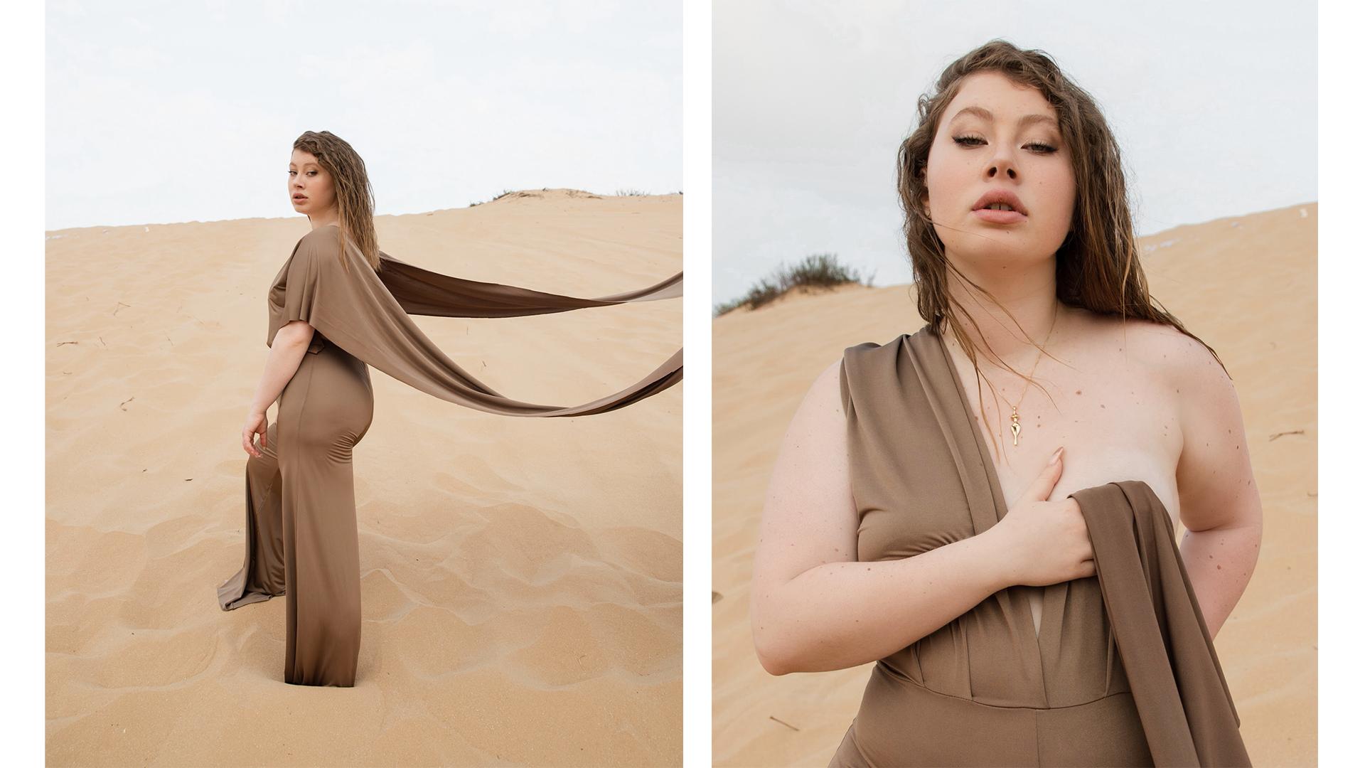 הפקת אופנה - אושר קיי מרומי סוכנות ג׳וסי ל מגזין האופנה  ARE